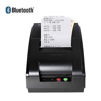SDZSH Etiqueta Térmica Impresora De Recibos, QS-7601 Portátil 7 ...