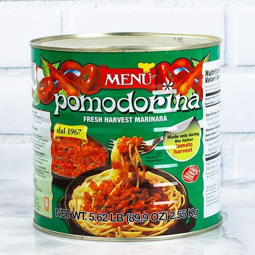 Menu Pomodorina Sauce 5.6 lb, 90 oz (Menu Pomodorina Sauce)