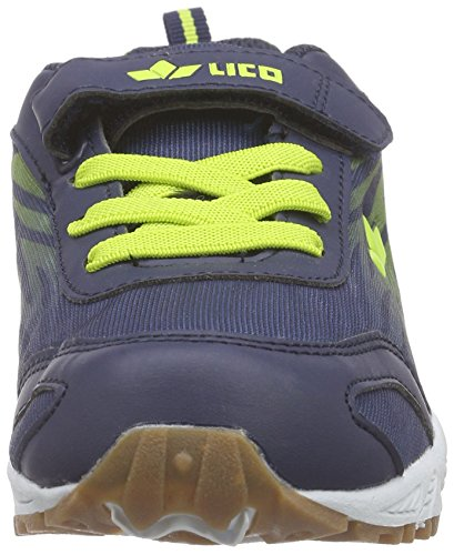 Lico Ben Vs - Zapatillas Niños Azul - Blau (blau/lemon)