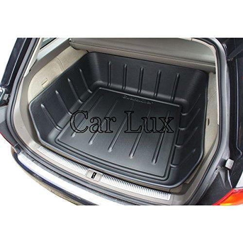 Car Lux ar04452/ /Couvre Tapis bac coffre hayon Gr avec bord haut pour A4/Avant B8/Combi depuis 2007