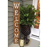 What a beautiful vinyl decal to add to your sign. Put it in the entrance of your home ***(wooden sign not included. This product is vinyl decal only.) You can order reverse printing to use as a stencil to paint your sign. Vinyl decals from Cu...