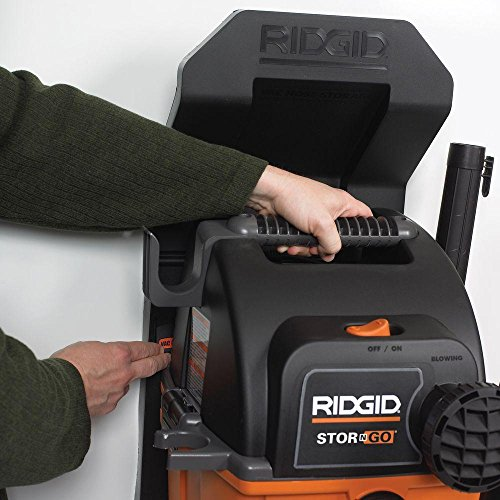 RIDGID WD5500A Stor-N-Go 5 gal. 5.0-Peak HP Wet Dry Vac Vacuum with Bonus LED Lighted Car Nozzle and Toucan City screwdriver by Toucan City (Image #4)
