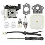 Savior Carburetor RB-​K93 GT-225 SRM-225 with Fuel Line Kit Adjustment Tool for Echo PE-225 GT-225 GT-225I GT-225L GT-225SF PAS-225 PAS-225 PAS-225SB PAS-225VPB Carb Trimmer Brushcutter A021001692