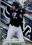 2016 Bowman's Best Top Prospects #TP-18 Zack Collins Chicago White Sox Baseball Card in Protective Screwdown Display Case
