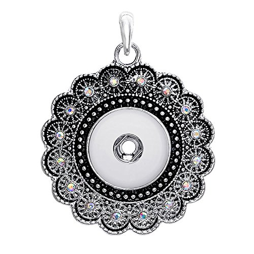 2017 New Crystal Alloy Pendant for Fit Noosa