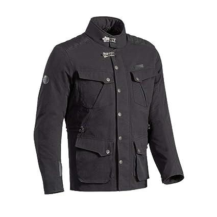 Ixon Exhaust chaqueta moto, Negro, L: Amazon.es: Coche y moto