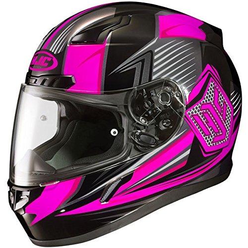 HJC CL-17 Ladies Full Face Helmet Striker Graphic MC-8 Pink (Small)