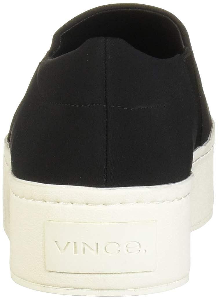 Vince Womens Warren Slip On Platform Sneaker