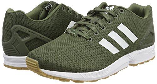 Course verbas 000 Vert Pour Flux Adidas De Ftwbla Chaussures Zx Homme Gum3 wTcA8qIaA