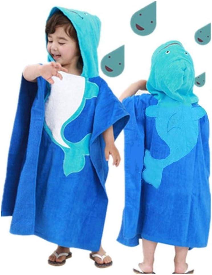 ZXJ Los niños con Capucha Toallas de baño, Infantil Dibujos de algodón Cabo bebé Puede Usar Toallas de baño del Traje de baño del niño Albornoz Albornoz para Girl Baby Boy: Amazon.es: