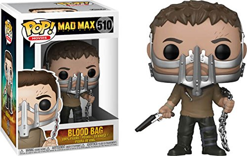 Funko Pop! Movies: Mad Max Fury Road - Blood Bag (Max with Cage Mask Limited Exclusive) #510 (Mad Figurine Max)