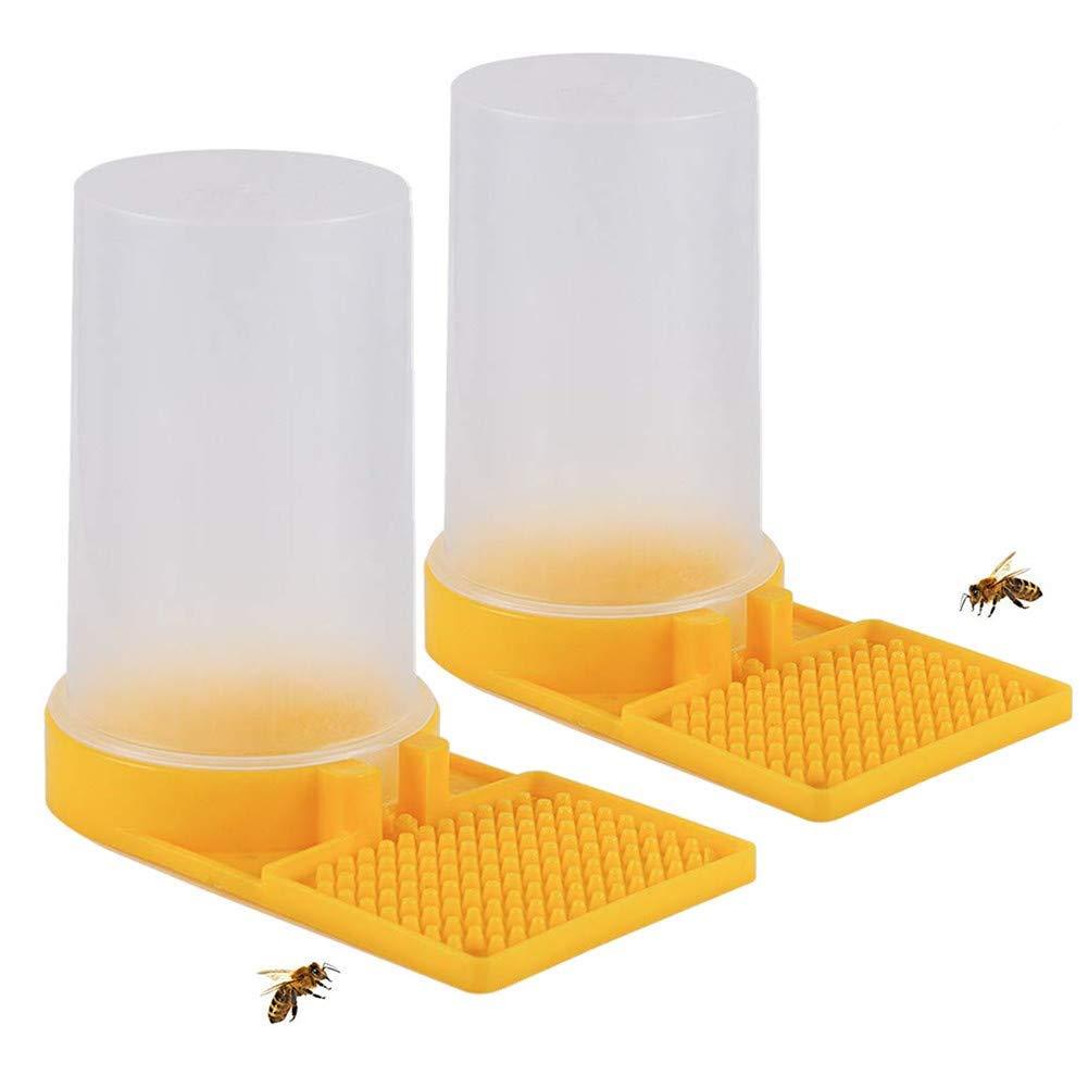 Honey Entrance Feeder Beekeeping Beekeeper Bee Keeping Equip Hive Tool 4 Pint 2L
