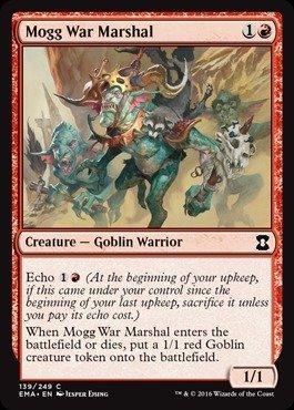 Magic: the Gathering - Mogg War Marshal (139/249) - Eternal Masters - Foil