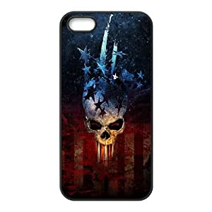 iPhone 5 5s Cell Phone Case Black Diablo KCL Cell Phone Case Durable Back