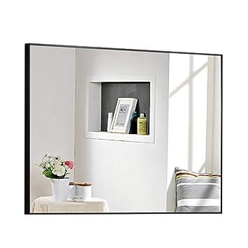Miroir De Salle De Bain Grand Miroir Mural Rectangulaire Avec