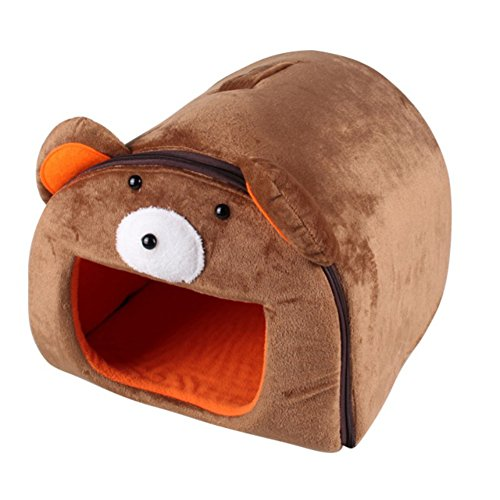 Yooan Fine joy Cute Pet House Cat Dog Hamster Guinea pigs Beds Sofas Cartoon Type Removable Cover Pets Bed For Little Pets