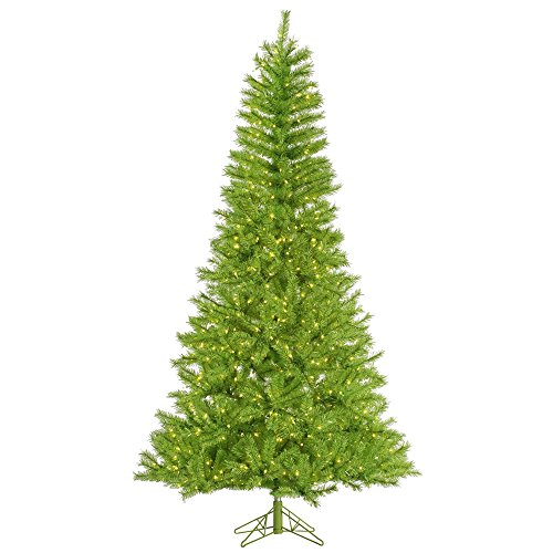 Vickerman Lime/Green Tinsel Christmas Tree