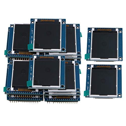 Yibuy 20PCS 1.8 inch Serial SPI TFT LCD Module Display PCB Adapter 128X160 Pixels by Yibuy