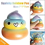 New!!ZYooh 1PC Exquisite Fun Crazy Poo Squishy Super Scented Slow Rising Rare Fun Toy