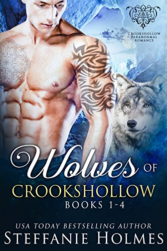 Wolves of Crookshollow Collection: Four werewolf paranormal romance novels cover