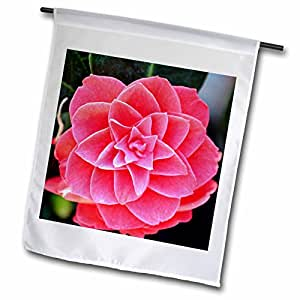 PS Flowers - Red Camillia Flower - Floral Print - Spring - 18 x 27 inch Garden Flag (fl_54494_2)