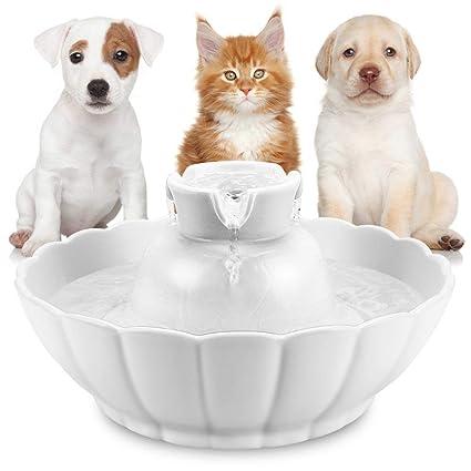 Fuente De Agua para Mascotas Cat Dog Máquina De Agua Automática Eléctrica para Circulación Silent 2.1