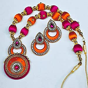 Handmade silk thread jewelry set for all occasions