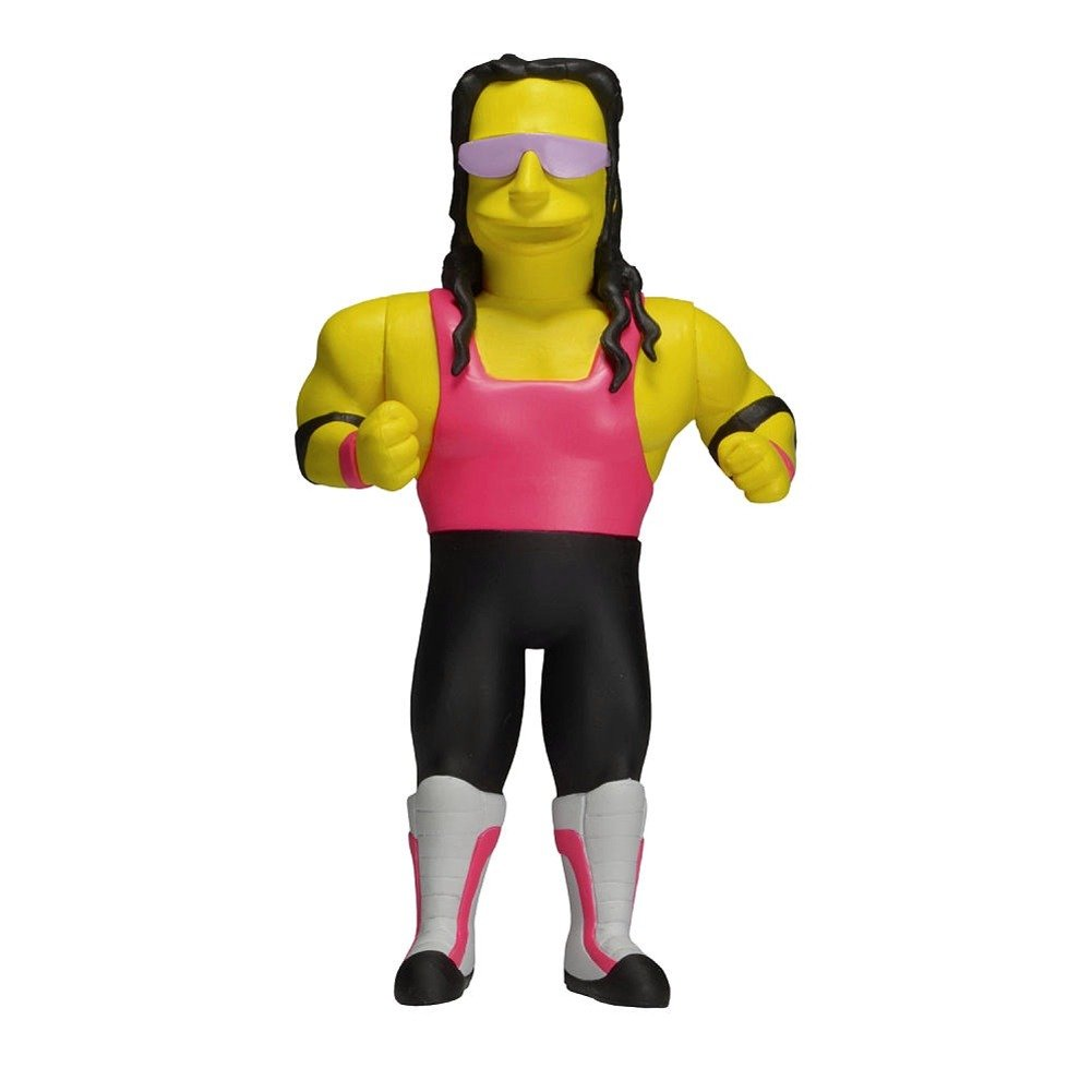 NECA Simpsons 25th Anniversary Series 3 Bret Hart 5 Figure 16049