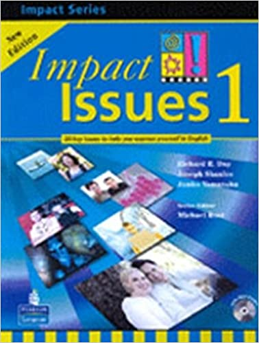 amazon impact issues 2e level 1 student book with cd richard r