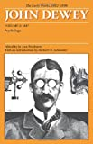 img - for The Early Works of John Dewey, Volume 2, 1882 - 1898: Psychology, 1887 (Collected Works of John Dewey) book / textbook / text book