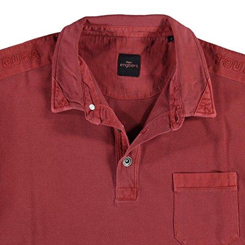 engbers Herren Poloshirt, 23644, Rot