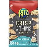 Ritz Crisp & Thins Salt & Vinegar Chips, 7.1 Ounce