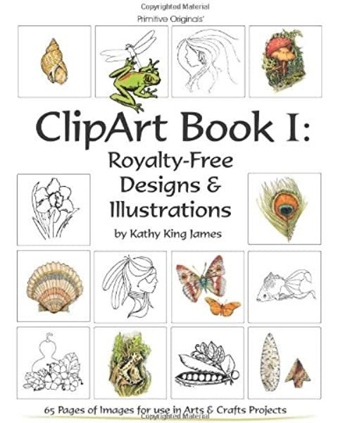 Clipart Book I Royalty Free Designs Illustrations James Kathy King 9781438231020 Amazon Com Books