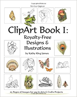 Clipart Book I Royalty Free Designs Illustrations Amazon De