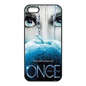 iPhone 5,5S Phone Case Black Once upon a time AFVT586252
