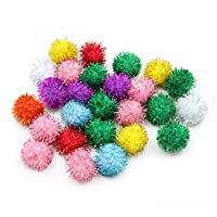 Creativity Street Glitter Poms 33Mm X 40-Piece Assorted