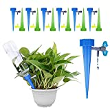 GiftedMary Plant Self Watering Spikes Devices Vacation Plant Waterer Stakes With Automatic Dripper Slow Release Valve Care Indoor Outdoor Home Office Plants 12 Pack