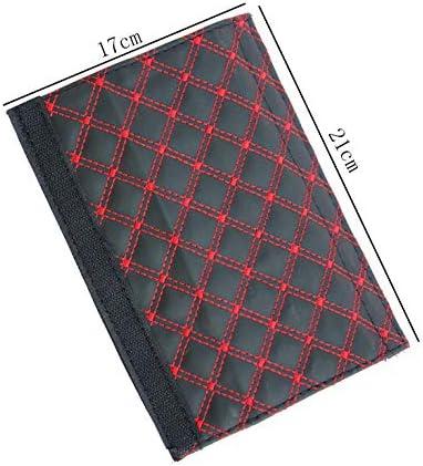 1 Paio 21 Auto Cintura Sicurezza Spalle Tampone Pelle in Microfibra Copri Morbido Comfort Protezioni Imbottitura Della Spalla 17cm