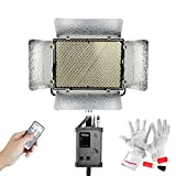 Aputure Light Storm LS 1s CRI95+ 5500K 1536 LED Video Light Panel 30300lux at 1.64ft Almost Equal to Traditional 1000W Tungsten Dual Power Solution with V-mount Plate