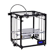 DIY 3d Printer Kit Square Full Metal Large printing size 260X260X350 with Auto Level heated Bed Precision
