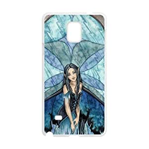 Samsung Galaxy Note 4 Cell Phone Case White Ashlynns Companions LSO7790721