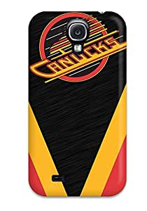 Flexible Tpu Back Case Cover For Galaxy S4 - Vancouver Canucks (10)
