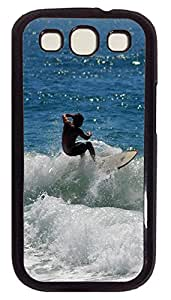 Samsung S3 Case Surf 04 PC Custom Samsung S3 Case Cover Black