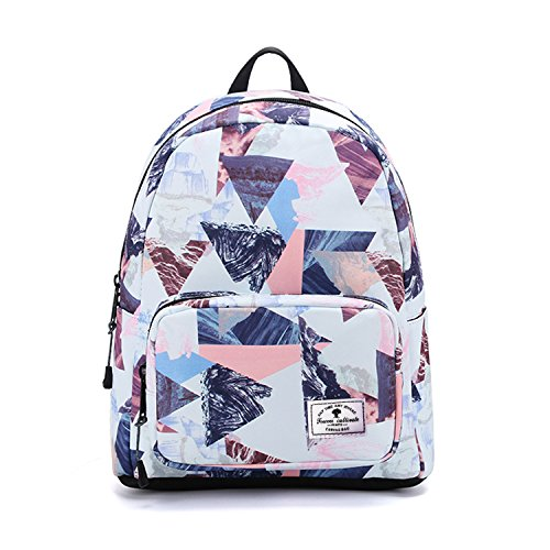 ESVAN Cute Backpacks Original Floral Leaf Girls sackpack Travel Daypack School -