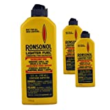 Ronsonol Lighter Fuel 5oz 3pcs