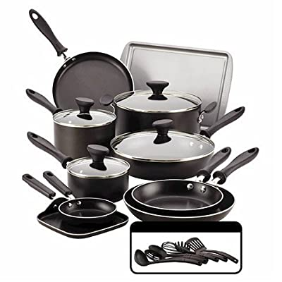 Farberware Reliance 20-piece Black Cookset