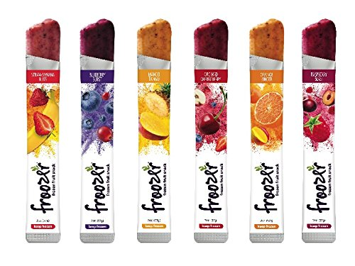 - Froozer Frozen Fruit Snack 6 Flavor Variety Pack 48ct Box