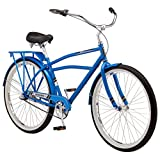 Schwinn Men's Cosgrove 26″ Wheel Cruiser Bicycle, Blue, 14″/Medium