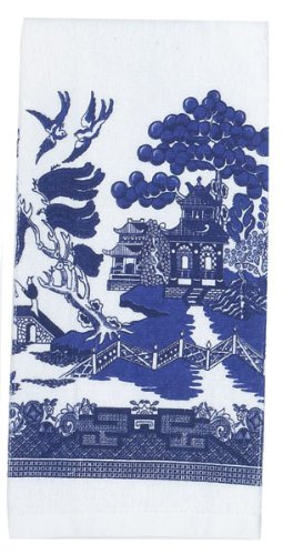 Kay Dee Designs Blue Willow Terry Towel