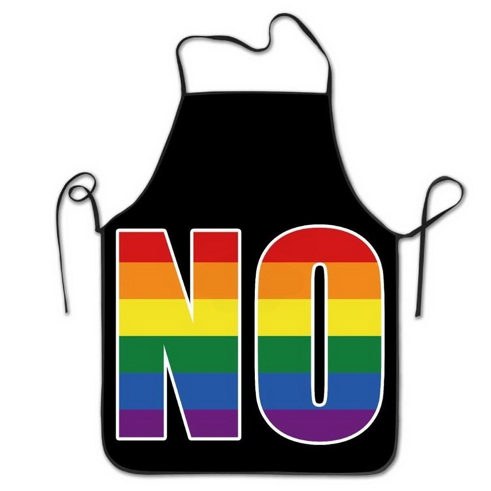 Resist Rainbow Flag National Pride Noデザイン調節可能な料理エプロンキッチンエプロンよだれかけエプロンChiefエプロンホーム簡単ケアのキッチン、BBQ、グリル   B07DHC7PKR